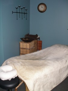 Massage therapy in Ajax, comfortable private room